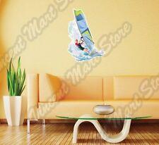 "Windsurfing Surf Windsurfer Water Sport Wall Sticker Room Interior Decor 18""X25"""