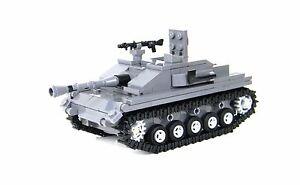 StuG Tank German World War 2 Complete Set made w/ real LEGO® bricks