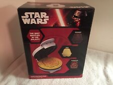 Brand New!! -  Disney - Star Wars Stormtrooper Waffle Maker with Nonstick Finish