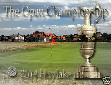 British Open Poster 2014/Hoylake Golf Course/17x22 in./Royal Liverpool/The Open