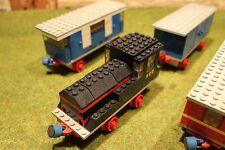 Lego Eisenbahn 122 Lok 123 124 Waggon Schienen 4,5V 12V 1970 Dachbodenfund