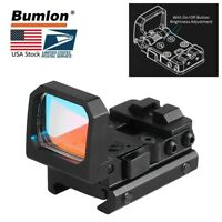 3MOA Flip Dot RMR Red Dot Sight Foldable Holographic Reflex Sight for Airsoft