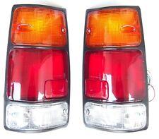 ISUZU PICK-UP KB42 1995-  Rear Tail Signal Lights Lamp 1Set LEFT + RIGHT Black