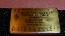 DAICO DA0857 GaAS 5 Section Attenuator 10 - 1000 MHz 1mA +5VDC 24-PIN DIP GOLD
