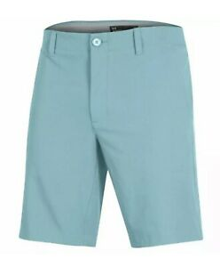 Under Armour Men's Iso Chill Golf Shorts / casual shorts - cosmos teal (aqua)