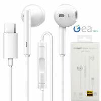 Auricolare Originale Huawei CM33 Cuffie Stereo in ear Type C + Mic Per P20 Pro