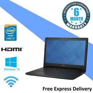 Dell 3460 - Windows 10 Touchscreen Laptop - Core i3-5005U | 4GB | 500GB GRADE B