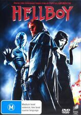 HELLBOY (Ron PERLMAN Selma BLAIR Doug JONES) ACTION Sci-Fi DVD NEW SEALED Reg 4