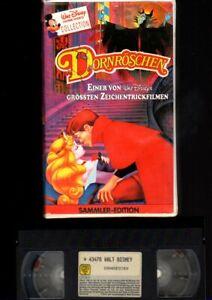 Walt Disney Sammler-Edition   DORNRÖSCHEN   VHS Rarität