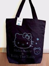 Sanrio Hello Kitty CANVAS TOTE BAG Shoulder Handbag Weekend School Bags ladies B