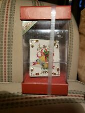 Lenox Ring In The New Year 2000 Porcelain Millennial Christmas Ornament w Box