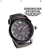 AVIATOR WATCH AMERICAN COLLECTIBLE Quartz Watch by PAWN STAR New NIB