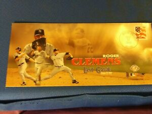 Roger Clemens Last Game First Day Issue October 22, 2003