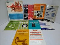 Lot of 10 Vintage HAM CB Amateur Radio Books 1960's-70's Many 1st & 2nd Editions