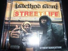 Method Man Presents Street Life / Street Education CD – Like New/Mint