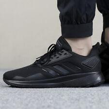Adidas Duramo 9 para Hombre Zapatos De Entrenamiento Gimnasio de ajuste de ancho negro BB7952 Reino Unido 9, 9.5