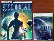 Xbox 360 Game - Star Ocean: The Last Hope (English) c/w Official Guide -Both New