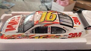 Greg Biffle #16 3M 2008 Ford Fusion 1/24 Action NASCAR high wing OPENED FOR PICS