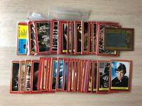 Star Wars: Return of the Jedi Series 1 RED trading cards by Topps 1983 base set