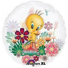 "Tweety See Thru Foil Clear Balloon 26"""