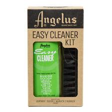 Angelus Kit Leather Suede Sneaker Brush, Microfiber Towel 8oz Easy Cleaner