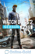 Watch Dogs 2: Season Pass - Uplay PC Season Pass Addon Digital Online Code DE/EU