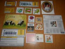 Österreich: Kleines Lot von gültiger Frankaturware und Vignetten; postfrisch