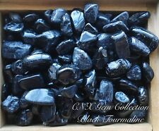 Tumbled Gemstone Crystal Natural Black Tourmaline Chipstones 5g Medium