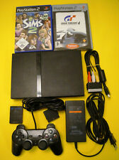 PS2 Konsole Sony Playstation 2 PAL alle Kabel voll funktionsfähig mit 2 Spielen