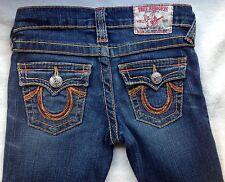 True Religion Girls Joey Rainbow Jeans size 6
