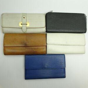 LOUIS VUITTON purse 5-piece set Summary Nomad Epi Taiga M85039 M63385 M30503...