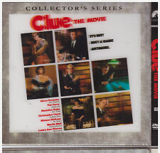 CLUE THE MOVIE (DVD, 1994. Thin 5x5 Sleeve) NEW AND SEALED LENTRICULAR COVER