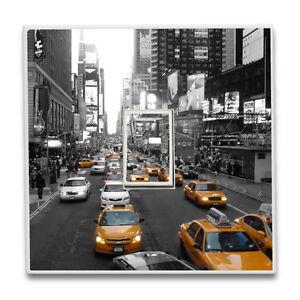 New York City Yellow Cab Landscape Single Light Switch Sticker Vinyl Wall Decal