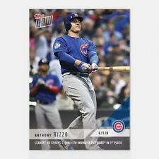 2018 TOPPS NOW #311 HR SPARKS 5-RUN 11TH INNING - ANTHONY RIZZO