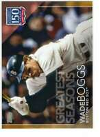Wade Boggs 2019 Topps Update 150 Years of Professional Baseball 5x7 Gold #150-84