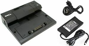 DELL PR03X Dock E-Port Replicator Docking Station PRO3X *INCL.POWER SUPPLY+CABLE