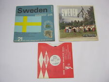 Sweden View Master Reel and Cover Vintage  T*