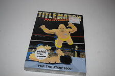 TITLEMATCH PRO WRESTLING Atari 2600 Video Game NEW In BOX