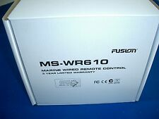 Fusion WR610 Wired Remote Control w Sun Cover and Cable New MS-WR610