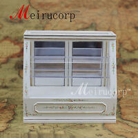 Dollhouse 1/12th Scale Miniature furniture Hand painted Store display cabinet 1#