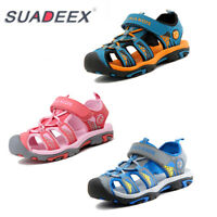 Boys Girls Summer Athletic Sandals Kids Breathable Outdoor Beach Shoes Slippers