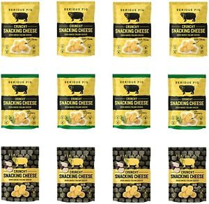 SERIOUS PIG Snacking Cheese Variety Multipack (12 x 24g)