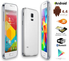"Unlocked! 3G GSM+WCDMA SmartPhone Android 4.4 OS DualSim WiFi Bluetooth 4"" LCD"