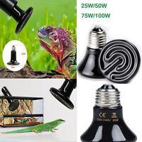 Infrared Ceramic Emitter Heat Lamp Brooder Grow Pet Reptile Heater Bulb 220-240V