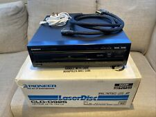 More details for pioneer cld-d925 laserdisc player, boxed. with chunky monster hdmi cable