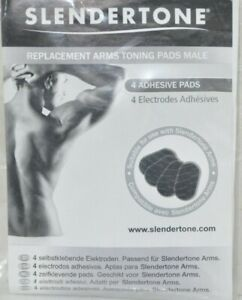 Slendertone Arms Male Replacement Pads - 4 Adhesive Pads