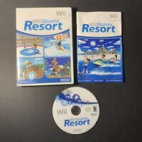 Wii Sports Resort (Nintendo Wii, 2009) Excellent Complete w/ Manual Tested