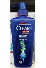 Clear Men Anti-Dandruff Nourising Shampoo Cool Sport Menthol+COOLING MINT 480ml.