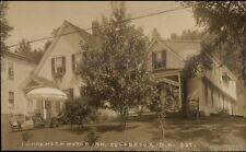 Colebrook NH Monadnock Motor Inn c1915 Real Photo Postcard