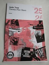 Jade Tree Twenty Five Years Poster 2016 Promotional Poster 11X17 New